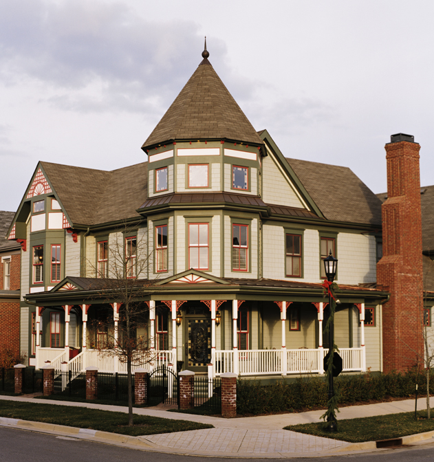 ColorPlus Victorian House – Green