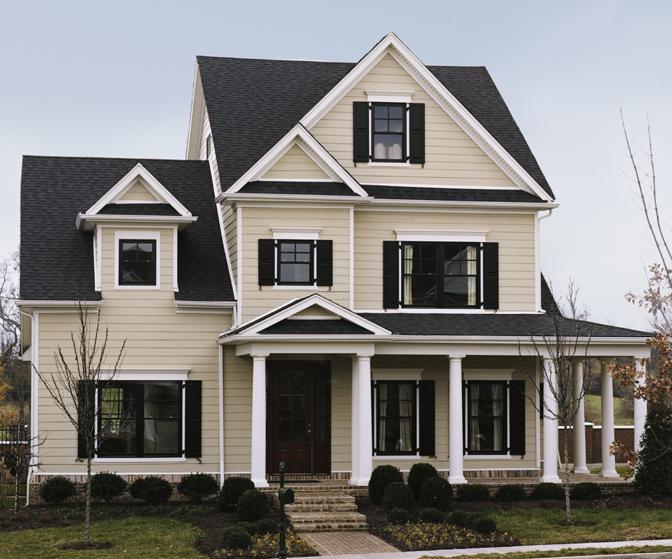 Cobblestone, ColorPlus, Full House Exterior Residential