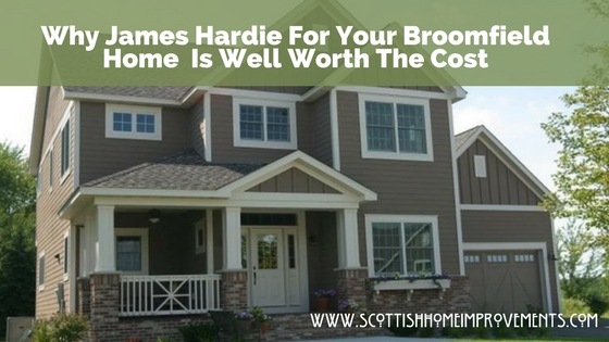 James Hardie broomfield siding experts