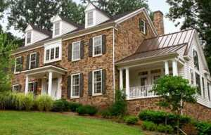 centennial stone siding home
