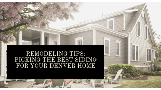 siding replacement denver options