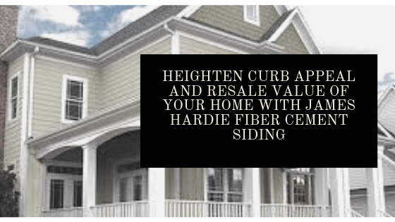 Curb Appeal Resale Value James Hardie Fiber Cement Siding