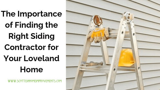 Siding contractors in Loveland