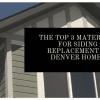 siding replacement denver