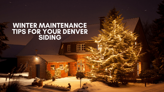 winterize denver siding