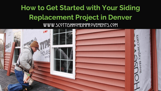 how to start a siding project