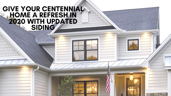 updated siding centennial