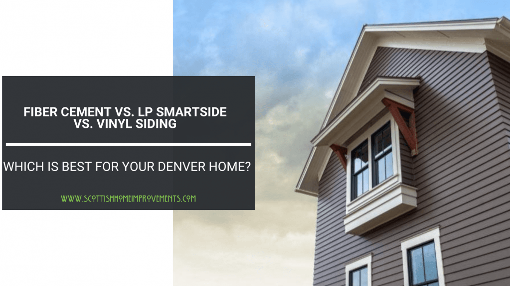 James hardie vs Vinyl Denver